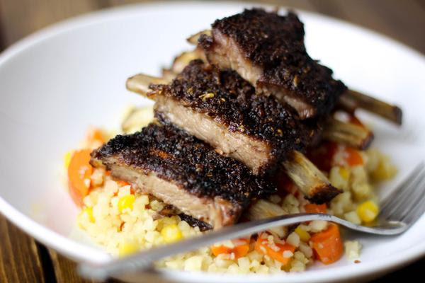 Five Spice Oven Roasted Ribs
