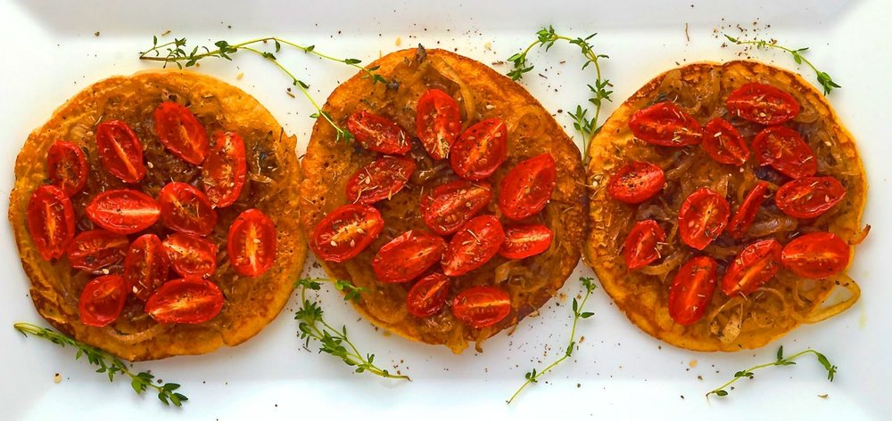 Chickpea Flour Pancakes with Onion and Roasted Tomatoes.jpg