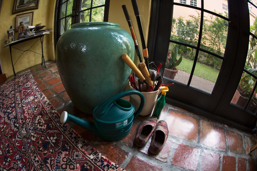 Interior with Gardening Tools, 2013