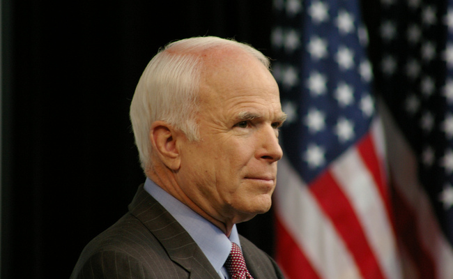 Senator John McCain - Picture: wikicommons/flickr