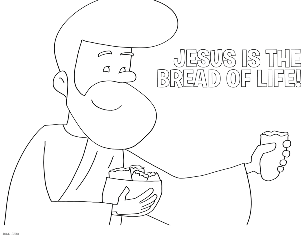 Color Me - I Am The Bread Of Life! — The Ark Parent Page