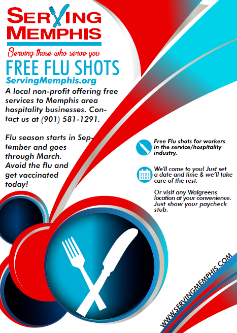 (flyer for our 2017-2018 free flu shot program)