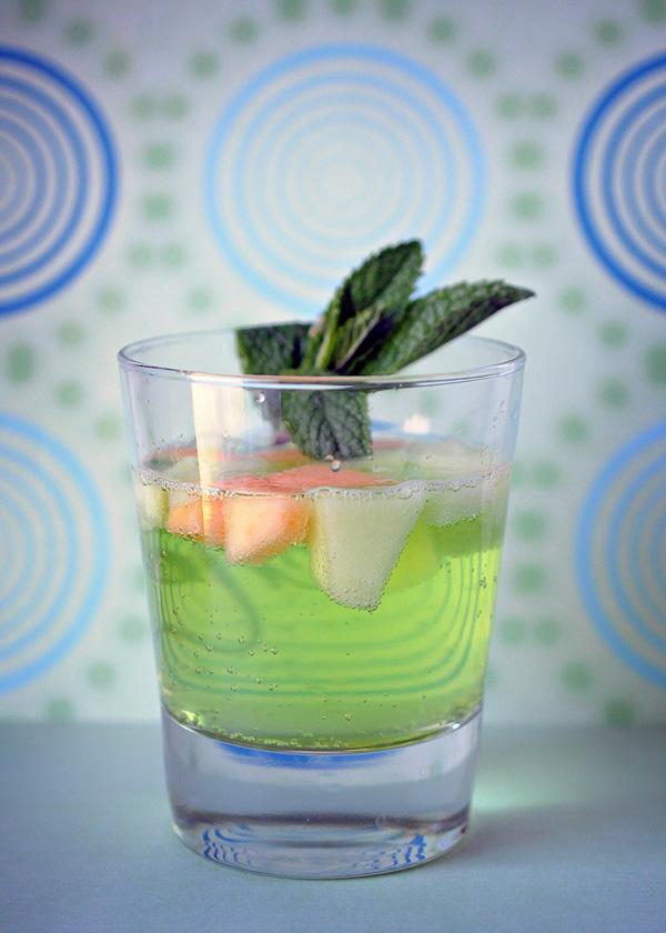 Retro Melon Cocktail