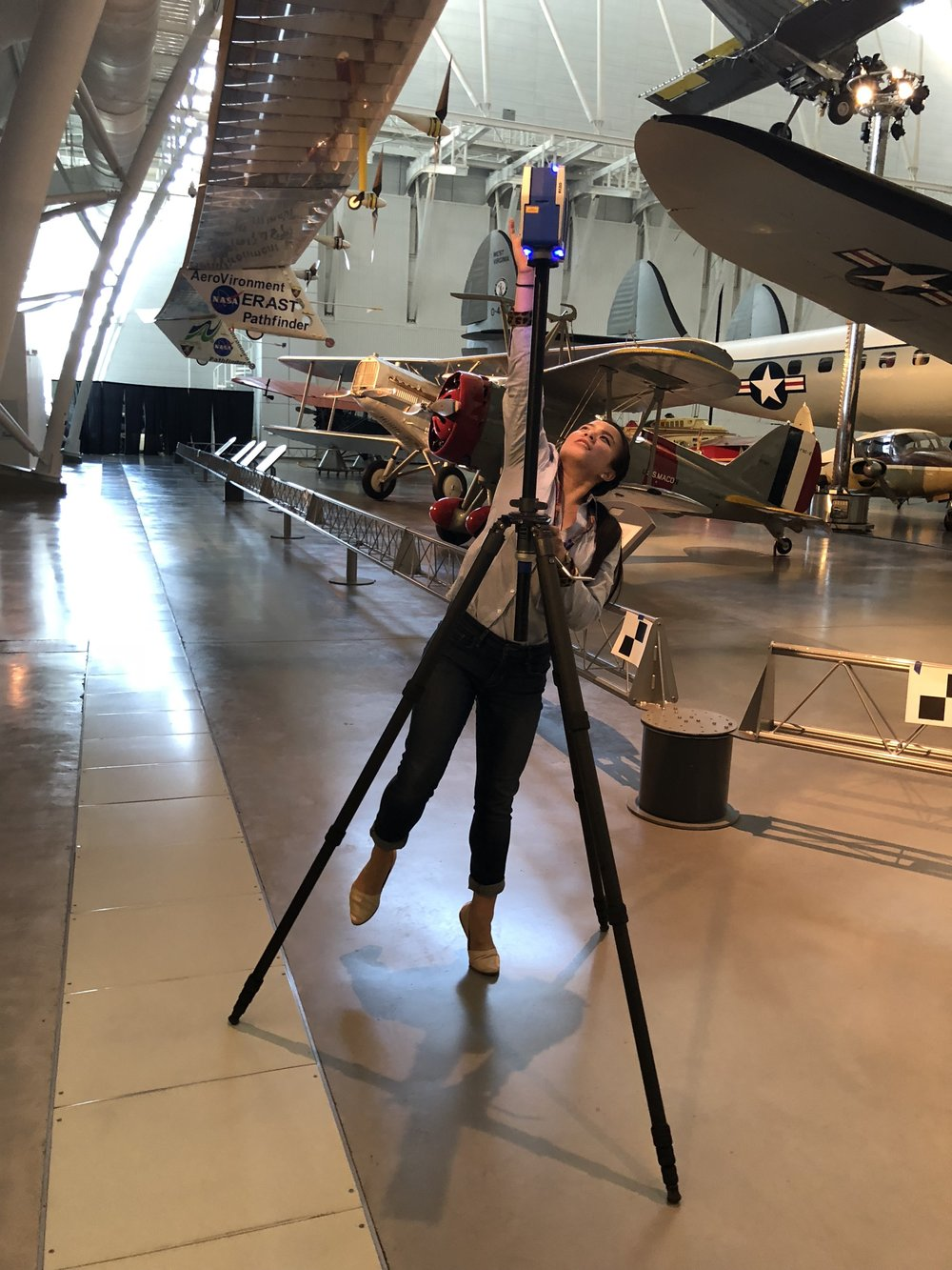 Faro 3D - Whole day shoot at Hazy Museum