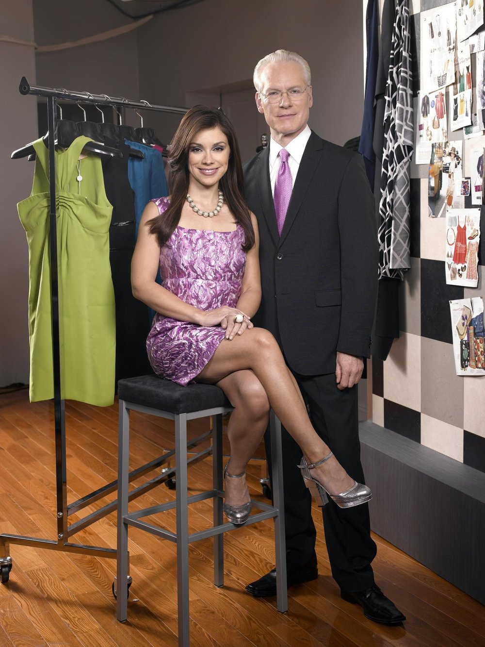 Tim Gunn, and Season 2 co-hosted by model Gretta Monahan