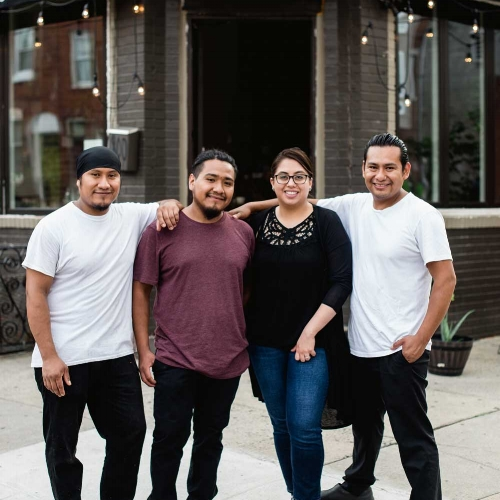 Creme Brulee owners - Armando Tapia & Family