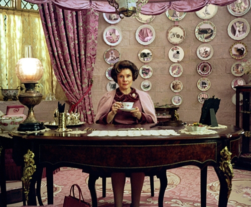 Dolores Umbridge. Picture via Warner Brothers.