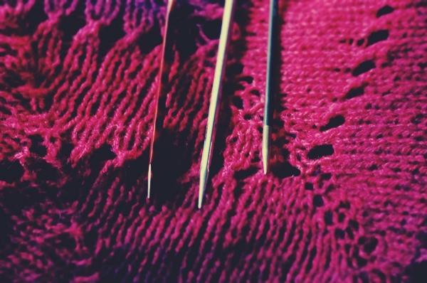 Test Driving A Few Knitting Needles Karie Westermann