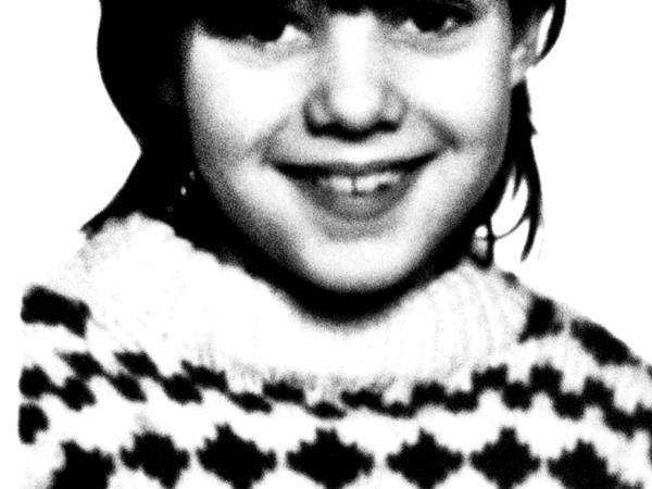 Karie as a kid