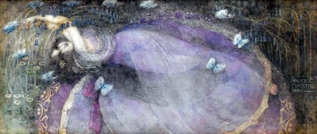 Frances_MacDonald_-_Ophelia_1898