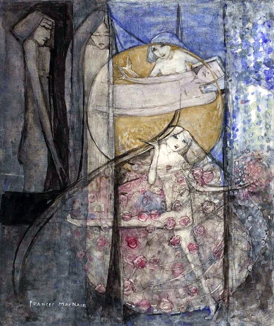 Frances_MacDonald_-_Woman_Standing_Behind_The_Sun