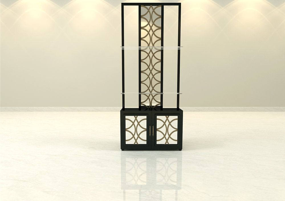 The Royal Suite Etagere