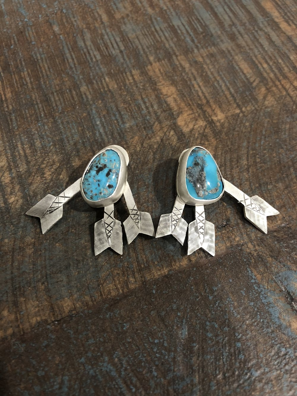 turquoise and arrows