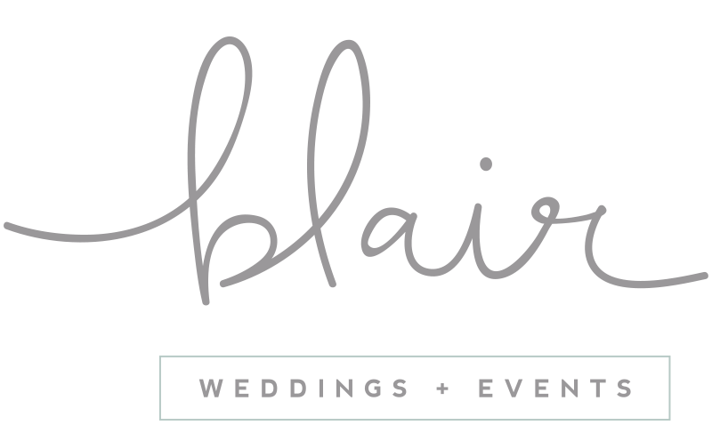 Blair Weddings + Events