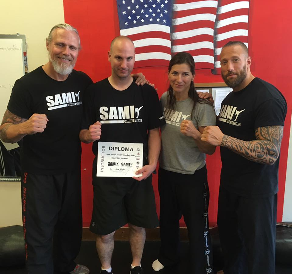 Study Group Leader in Knife Fighting Concepts Peter Weckauf of Sami Combat Systems.