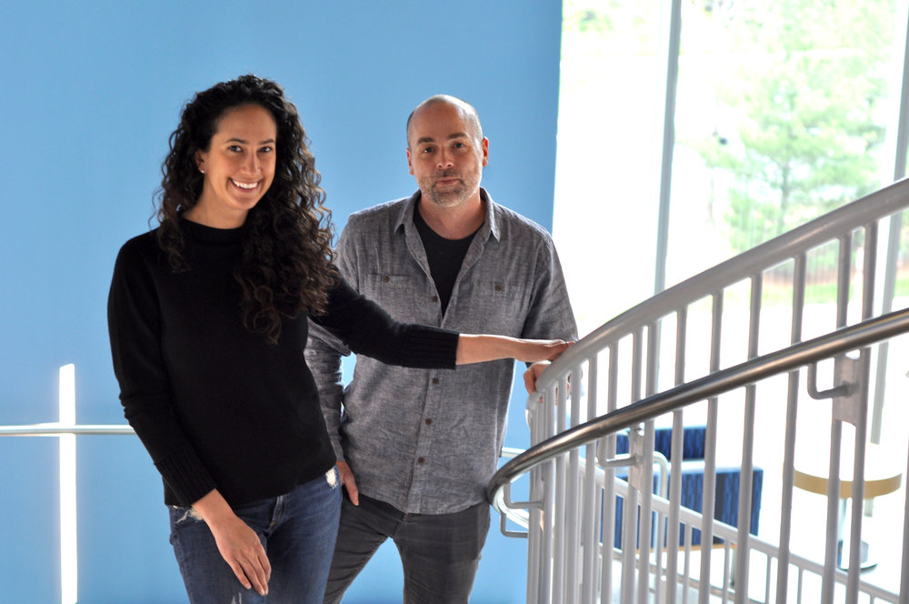 READY TO BREAK THROUGH CORPORATE INERTIA? - Founders Mara Lewis and Brad Holliday are ready to help.