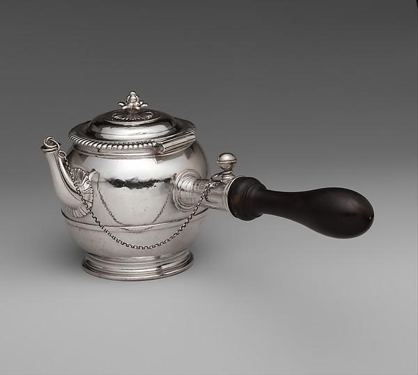 Teapot,1699-1700. Metropolitan Museum of Art.