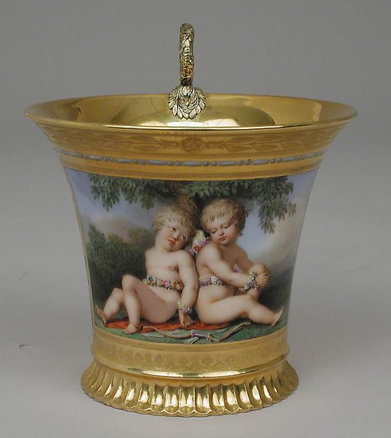 Sèvres Porcelain Cup.  Metropolitan Museum of Art.