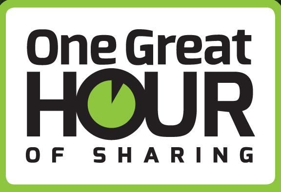 One Great Hour of Sharing:  Every Spring we take a special OGHS offering to support disaster, refugee, and development activities throughout the world.