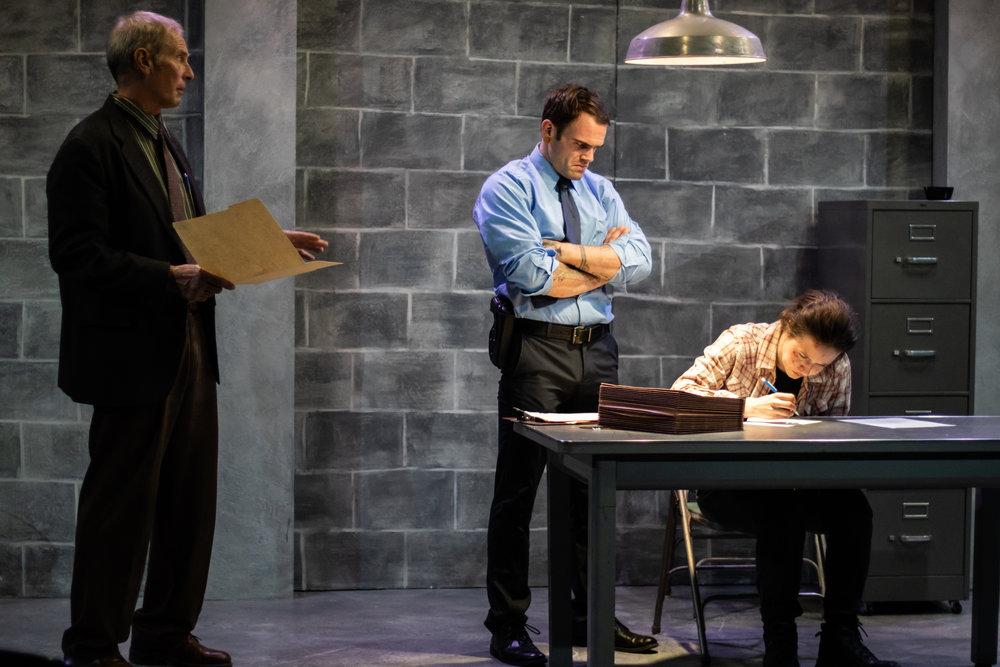 Jaime Jastrab as Tupolski, Rob Schreiner as Ariel, Rose Grizzell as Katurian