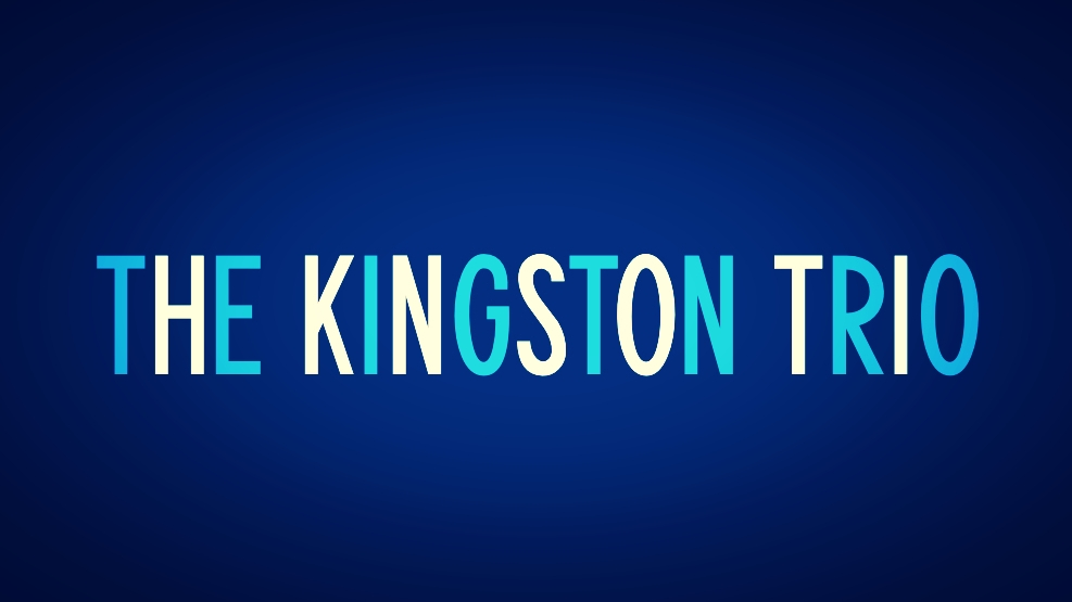 First Kingston Trio Typeface, Circa 1958