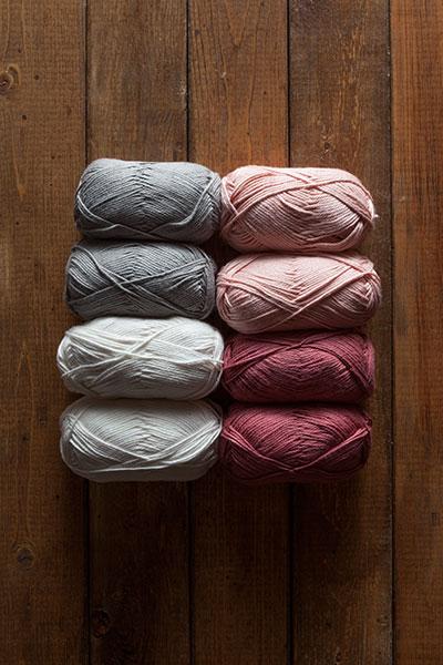 Skeins of yarn, image courtesy of knitpicks.com