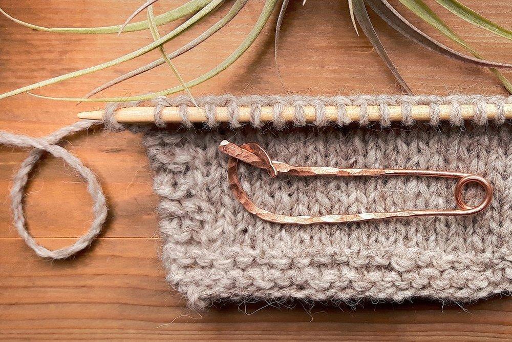 Stitch holder, photo via Wolf and Faun