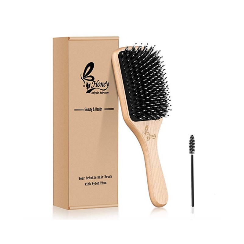Natural Brush & Brush Cleaner