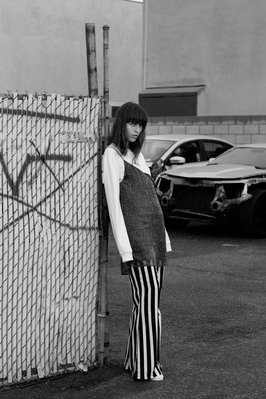 Sweatshirt :  Roxy  Dress :  Subdued  Pants : Vetiver Shoes :  Vans
