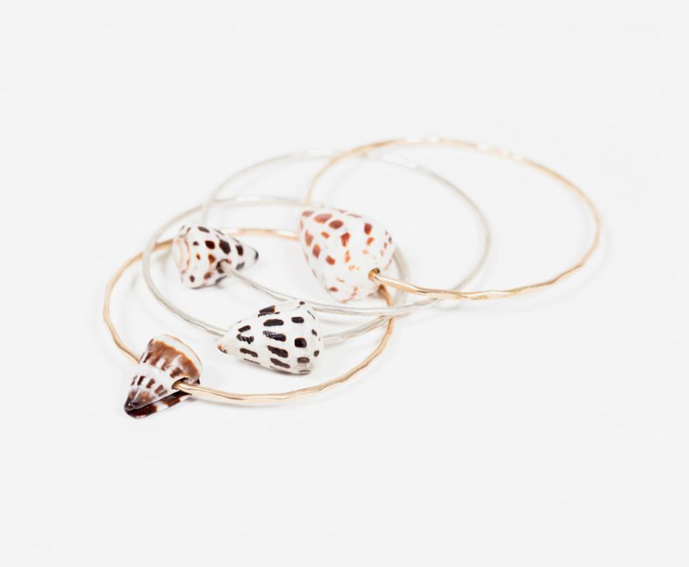 Kawela Kai Shell Bracelets