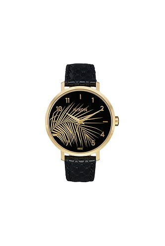 ARROW PALM LEATHER WATCH