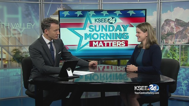 Democrat Jessica Morse sits down with KSEE24's Evan Onstot to discuss her challenge to Congressman Tom McClintock
