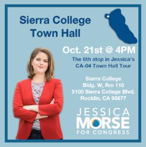 Sierra College Town Hall