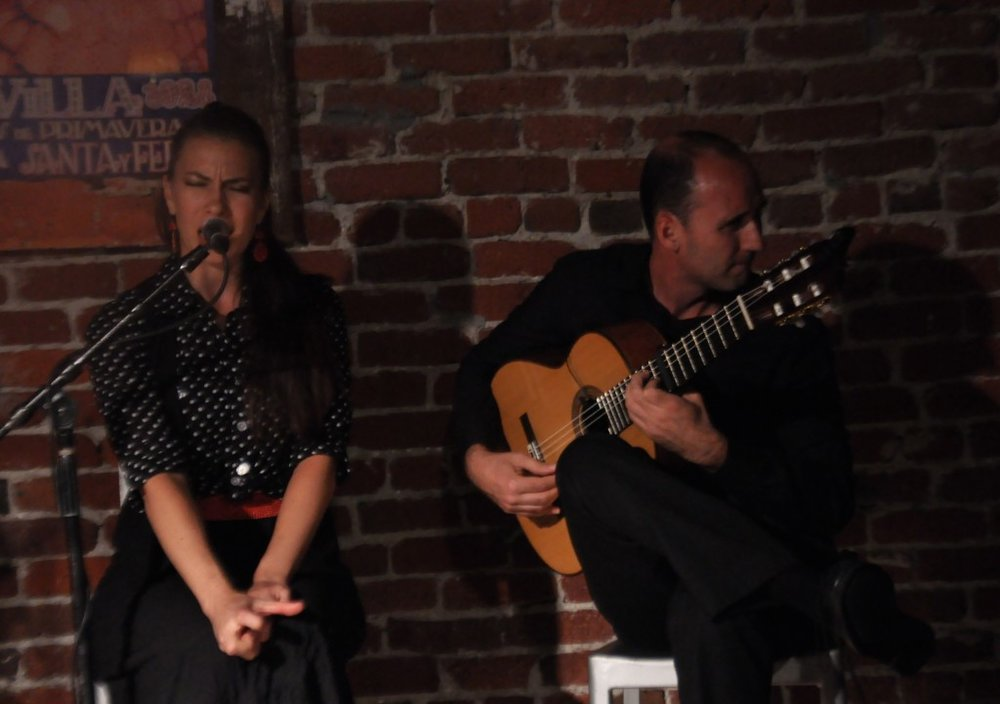 Roberto Aguilar and Clara Rodriguez at The Flamenco Room