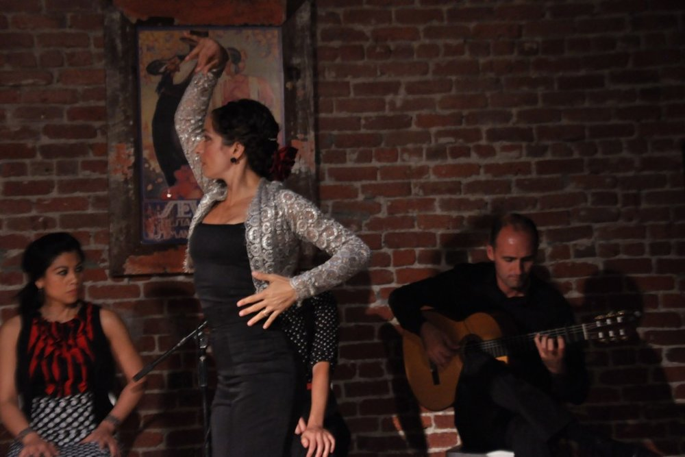 Roberto Aguilar and Gina Giammanco at The Flamenco Room