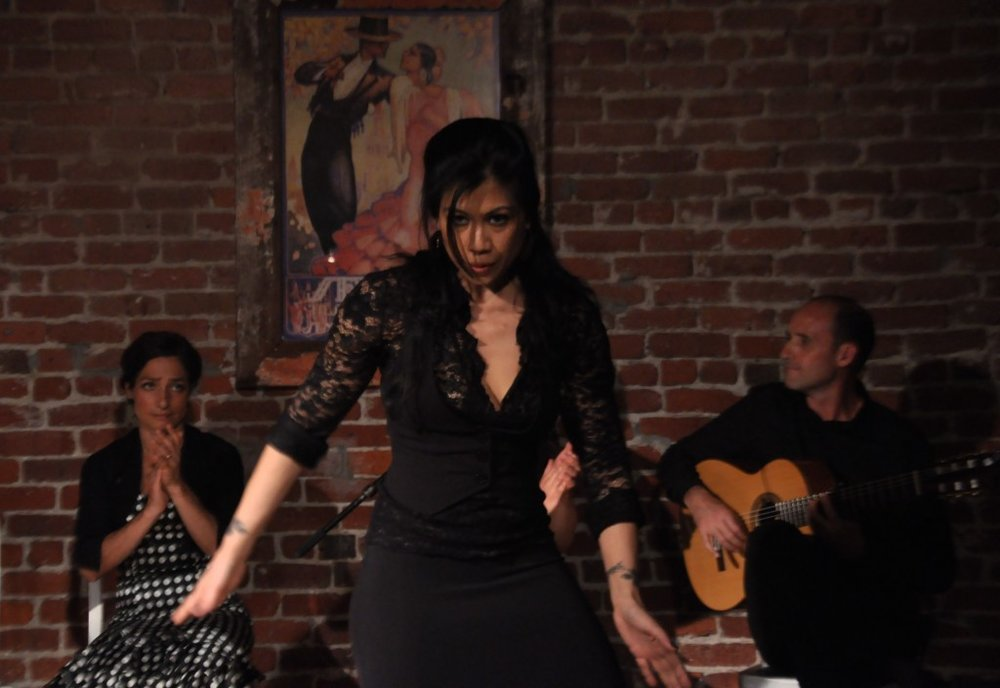 Roberto Aguilar and Melissa Cruz at The Flamenco Room