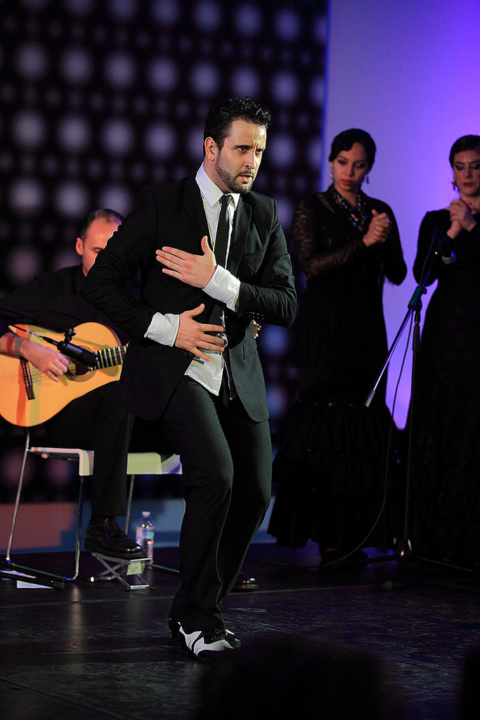 Roberto Aguilar and Manuel Gutierrez with Theatre Flamenco