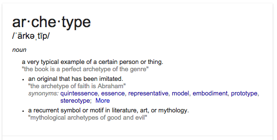 archetype_definition