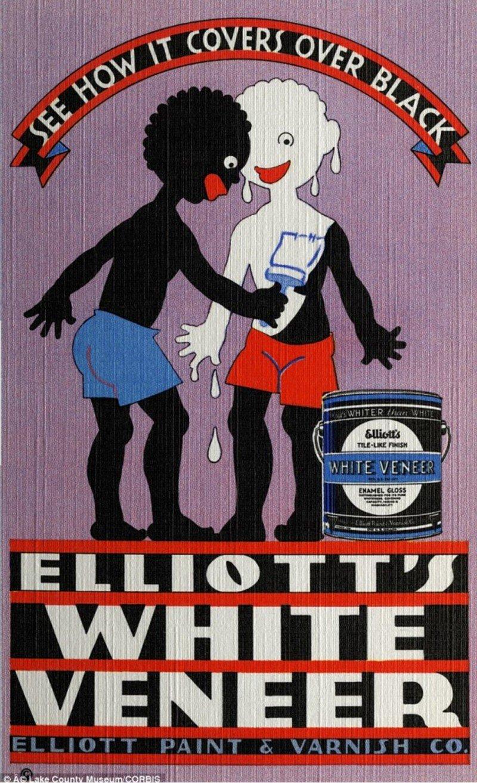 Elliot's White Veneer Ad 1935