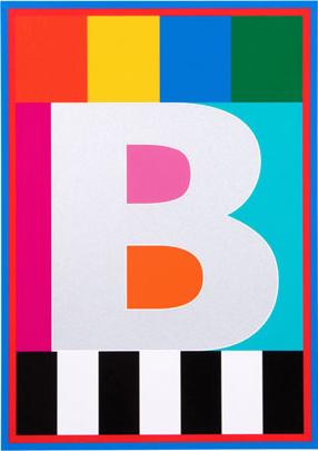 Peter Blake alphabet print