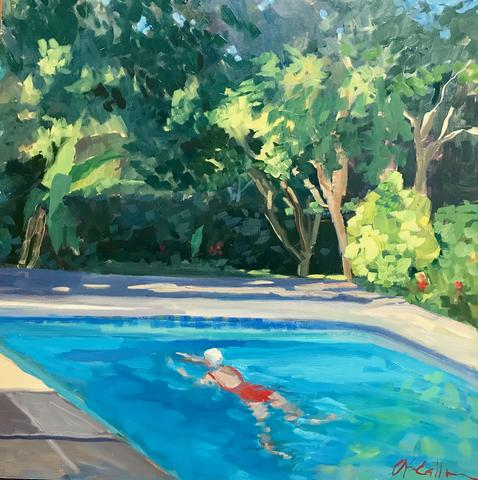POOL SWIMMER - SUSIE CALLAHAN