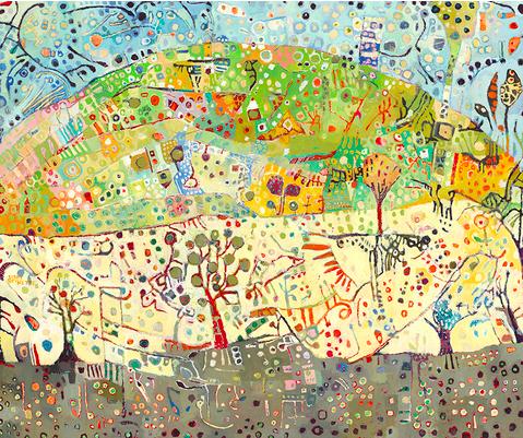 Kathy Beynette Norberg (Sweden) Landscape