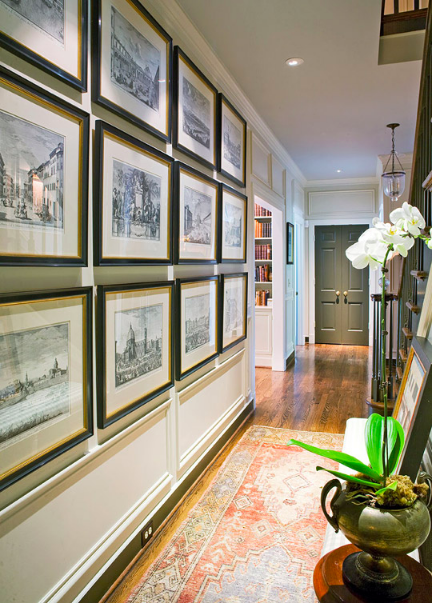 Traditional Home gallery wall inspiration