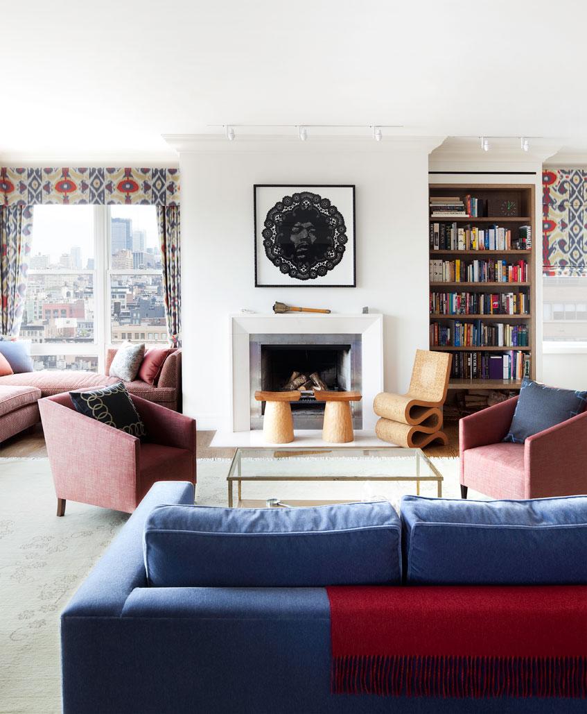 Sheila Harlem Manhattan Penthouse Livingroom