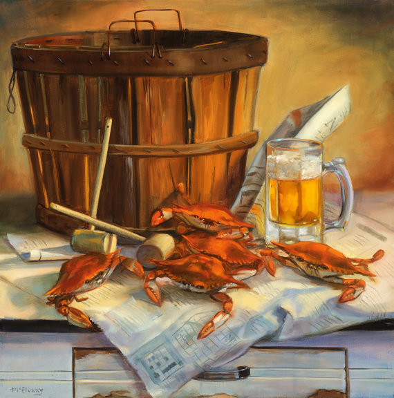 Jane McElvany Coonce Crab Feast