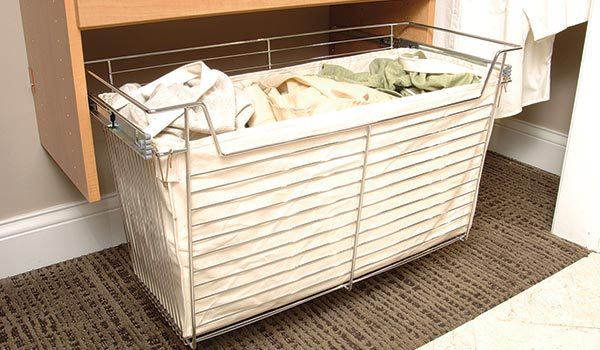 wire basket canvas liner