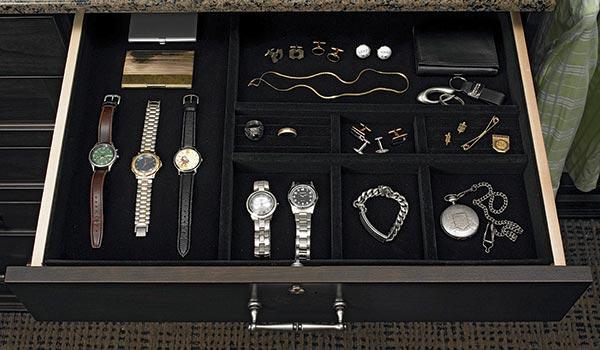 velvet jewelry organizer