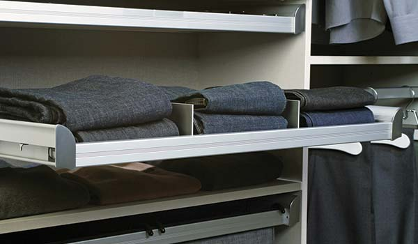 engage pull-out shelf divider