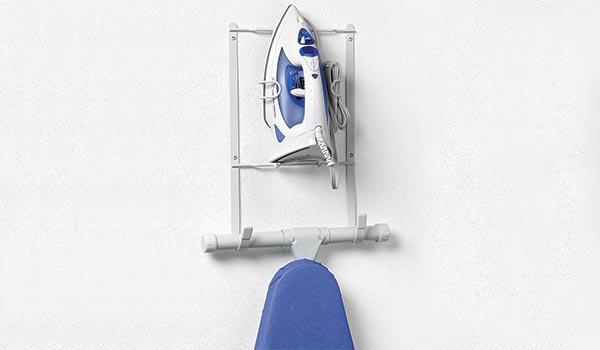 iron+ironing board holder