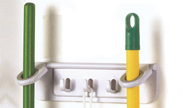 Copy of stick mop and broom organizer